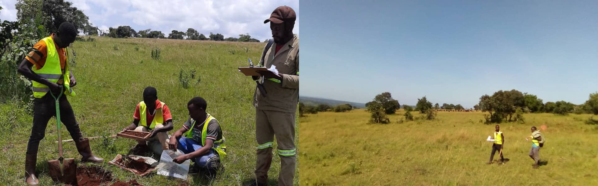 Mining exploration on site in Tanzania for Adavale Resources